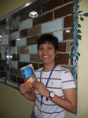 Reader of the Month: Ms. Elisa M. Magtibay