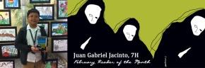 Reader of the Month: Juan GabrielJacinto