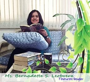 Featured Reader of the Month: Ms. Bernadette S.Leobrera
