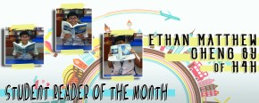 Student Reader of the month: Ethan Matthew ChengSy