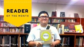 Reader of the Month (Dec 2015): Philbert Neil Aldrich P. Tan(9B)
