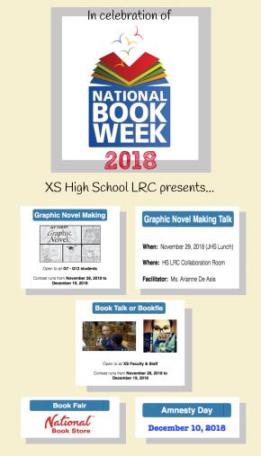 HS LRC National Book Week 2018Activities