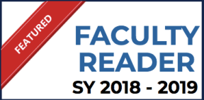 Featured Faculty Reader (SY 2018-2019)