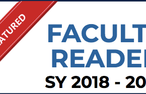 Featured Faculty Reader (SY2018-2019)
